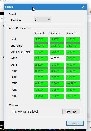 Send Status to AlazarTech Support